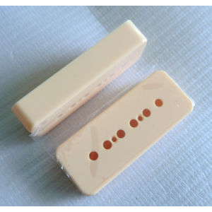 Ivory Color P90 Soap Bar Guitar Pickup Covers pictures & photos