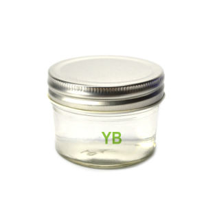 4oz Tapered Round Mason Jars for Storage with Metallic Lid pictures & photos