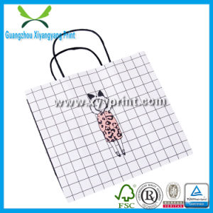 Good Price Custom Shopping Paper Kraft Bag with Logo Print pictures & photos