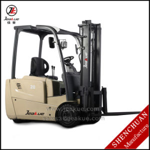 Factory Price 1.6t -2t Three Wheels Electric Forklift for Sale pictures & photos