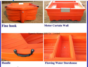 Hot Selling Chinese PE Boat 3.6m Lake Cheap Plastic Fishing Boat pictures & photos