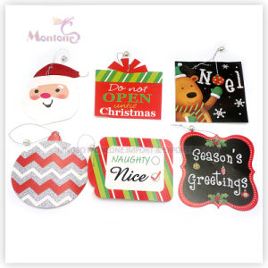 Christmas Gift Tags with String pictures & photos