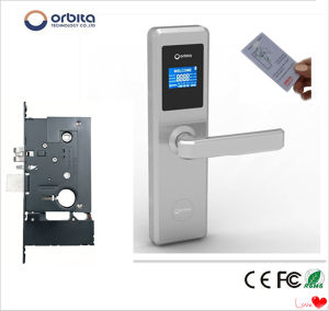 Orbita LED Display Hotel Digital Door Lock pictures & photos