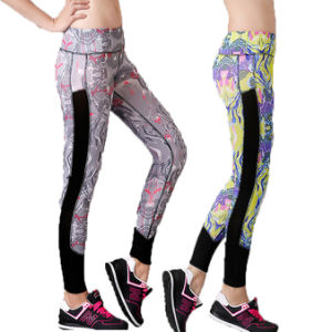Sports Compression Fitness Yoga Bodybuilding Trousers for Women Sportswear (AK6545) pictures & photos