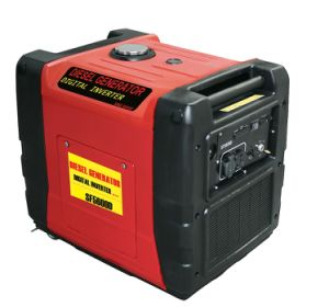 Diesel Digital Inverter Generator with Rated AC Output 6.0kVA pictures & photos