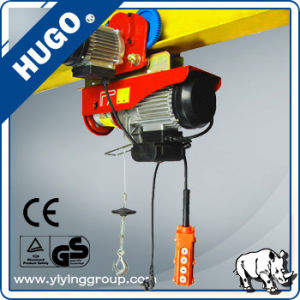 1 Ton Mini Monorail Traveling Electric Wire Rope Hoist pictures & photos