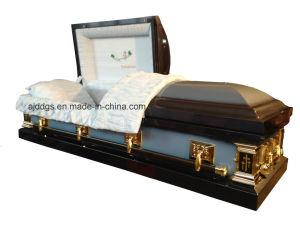 American Style Metal Coffin (18319044) pictures & photos