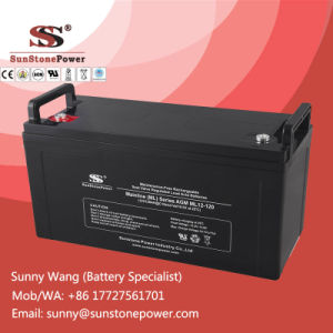 Sunstone Power Battery 12V 120ah Deep Cycle UPS Solar Battery pictures & photos