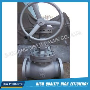 Bevel Gear 300lb Cast Steel Globe Valve pictures & photos