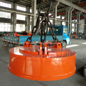 Overhead Crane Lifting Electromagnet for Recycling Factory pictures & photos