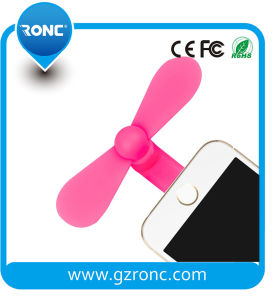 TPU Green Material Mini Fan in Stock for Mobile Phones pictures & photos