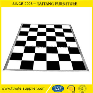 Cheap Portable Manufacturer White&Black Laminate Dance Floor pictures & photos
