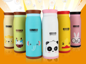 260ml Cute Animal Stainless Steel Vacuum Cup Portable Thermos Cup for Baby pictures & photos