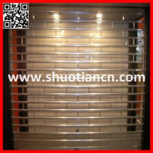 Crystal Grill Polycarbonate Shutter Door (ST-003) pictures & photos