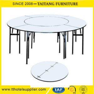 New Style Banquet Table Factory Price Wooden Folding Used pictures & photos