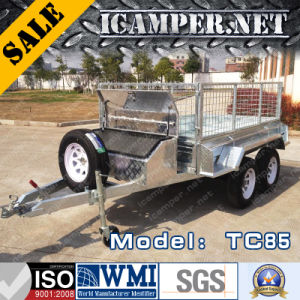 2017 Utility Trailer: Fully Weld Tandem 8′*5′