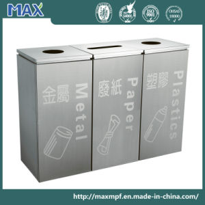 Stainless Steel Shopping Mall Dustbin pictures & photos