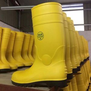 China Factory PVC Rain Work Safety Boots pictures & photos