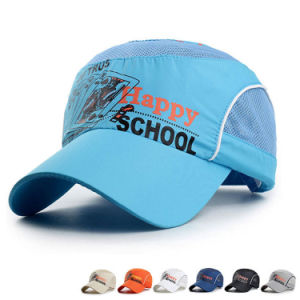 Children Fashion Printed Fast Dry Mesh Baseball Sports Caps (YKY3420) pictures & photos