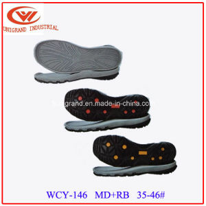 2016 New Development EVA Rubber Outsole for Shoes Making pictures & photos
