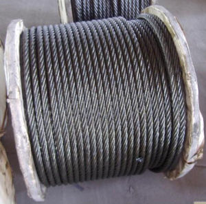 1770MPa Tensile Strength Galvanized Steel Wire Rope Diameter 16mm pictures & photos