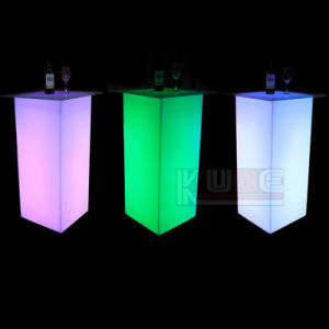 Colorful LED Lighting Bar Table with Light pictures & photos