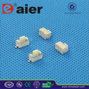 SMD Tactile Switch; Tact Switch 2 Pin (KFC-003D) pictures & photos