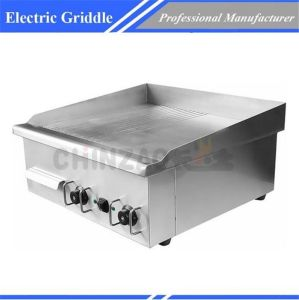 Commercial Electric Griddle Grill Non Stick Surface Dpl-620-2 pictures & photos