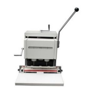 Auto Double Hole Punching Machine (WD-SY02) pictures & photos
