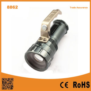8862 Aluminium Alloy Camping Torch 10W T6 Tactical Flashlight pictures & photos