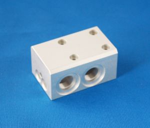Commonly CNC Machined Aluminum Valve Parts pictures & photos
