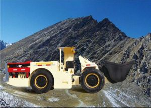 Electric LHD with 1cbm Bucket for Underground Mining pictures & photos