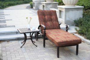 Garden Cast Alumimun Chaise Lounge Furniture pictures & photos