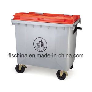 1100L Plastic Dustbin with Four Wheels Eco-Friendly pictures & photos