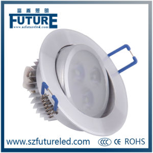 12W High CRI LED Spot Lighting/LED Ceiling Spotlight pictures & photos