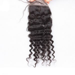 Fashion Body Wave Brazilian Hair Lace Top Closure pictures & photos