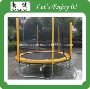 2014 China Round Used Trampolines for Sale with Enclosure pictures & photos
