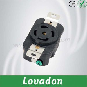 L21-30p British Anti-off Four-Hole Outlet pictures & photos