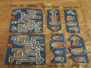 Control Valve Gasket 419-15-16821, 419-15-16811 for Wa320-1 Wheel Loader Parts pictures & photos