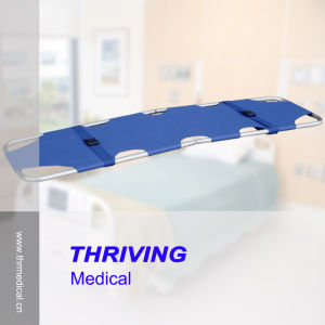 Aluminum Alloy Emergency Folding Stretcher (THR-1B) pictures & photos