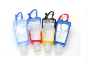 30ml Portable Travel Silicone Hand Sanitizer Perfume Bottle Case pictures & photos