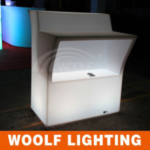 Illuminated LED Cafe Bar Counter Design pictures & photos