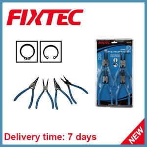 Fixtec Hand Tool 7 Inch 4 PCS Circlip Plier Set pictures & photos