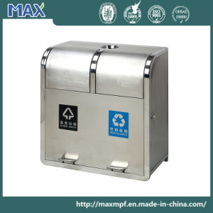 Pedal Trash Can Plastic Bucket Stainless Steel Waste Bin pictures & photos