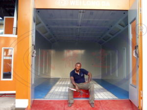 Hot Sales Car Spray Booth Wld8200 CE pictures & photos