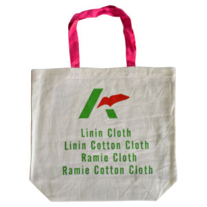Natural Color Cotton Bag with Customise Logo