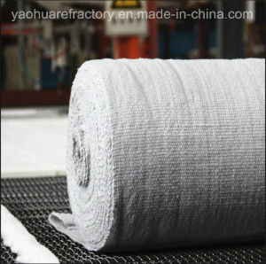 Steel Wire Alumina-Silicate Ceramic Fiber Cloth for Refractory Insulation pictures & photos