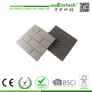 Waterproof WPC Outdoor Solar DIY Decking Tiles pictures & photos
