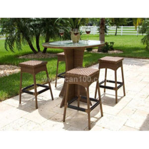 Commercial Wicker Bar Furniture Set (BF-1003) pictures & photos