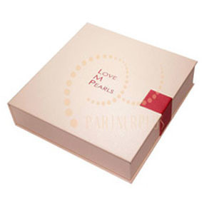 High End of Paper Gift Box in File Shape